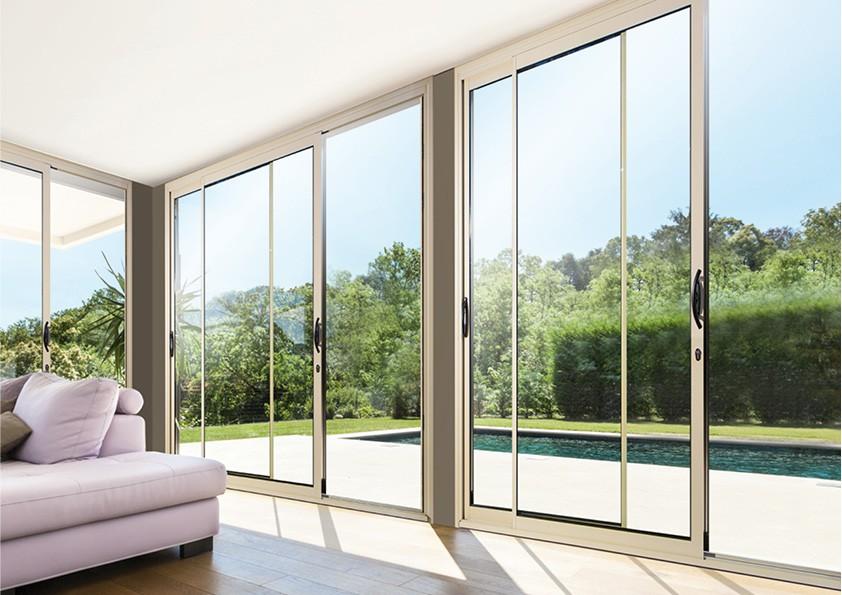 prix d une baie vitre coulissante beautiful baies vitres. Black Bedroom Furniture Sets. Home Design Ideas