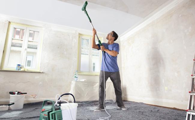 entretien d'un faux plafond