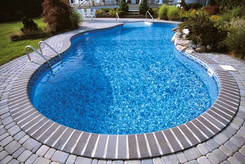 liner de piscineen PVC armé